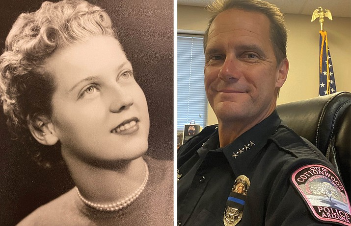 Nona Gesell at 19, not long after she graduated high school. She passed away from breast cancer at age 42. Her son, Cottonwood Police Department Chief Steve Gesell says it was his mother's ability for compassion that has led him to a life of service in the police department. (Gesell family/Courtesy)