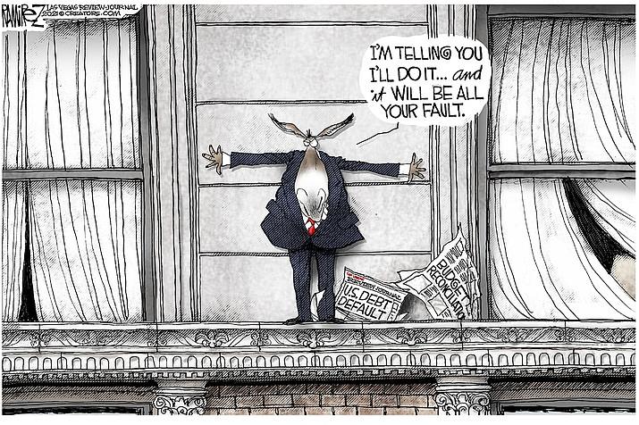 Editorial cartoon (2): Oct. 10, 2021