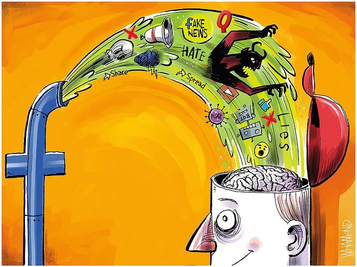 Editorial cartoon (1): Oct. 12, 2021