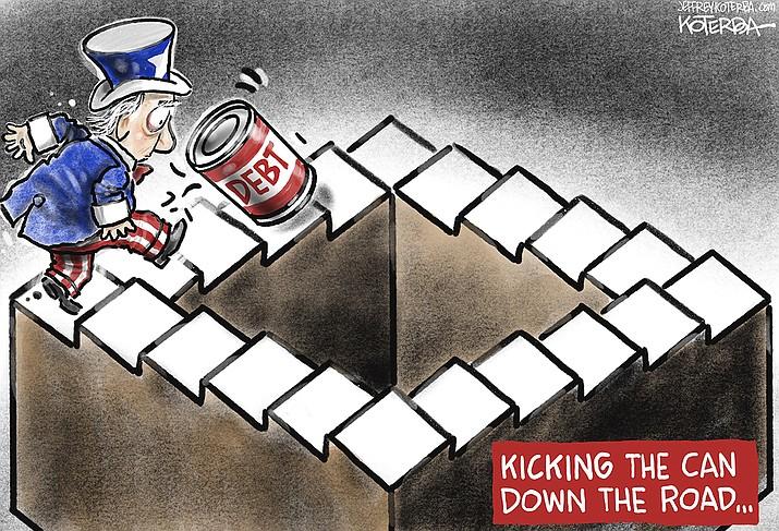 Editorial cartoon (2): Oct. 12, 2021