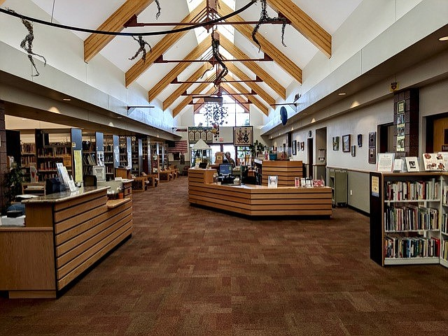 """The Cottonwood Library, 100 S. 6th St., is planning to celebrate """"National Friends of the Library Week"""" on Oct. 17-23, 2021. Visit friendsofctwazlibrary.org for more information. (Cottonwood Public Library/Courtesy)"""