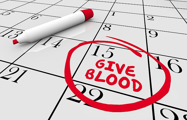 The Cornville Community Association, along with Desert Star School and Vitalant, are sponsoring a blood drive on Friday, Oct. 15, according to a news release.