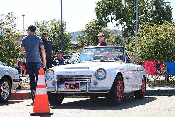 Classic car owners returned to Williams Oct. 2 for the ninth annual Datsun Car Show. (Loretta McKenney/WGCN)