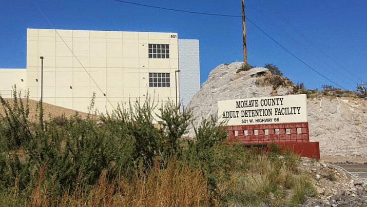 A Mohave County detention officer has died from COVID-19, according to the Mohave County Sheriff's Office. The Mohave County jail is pictured. (Miner file photo)