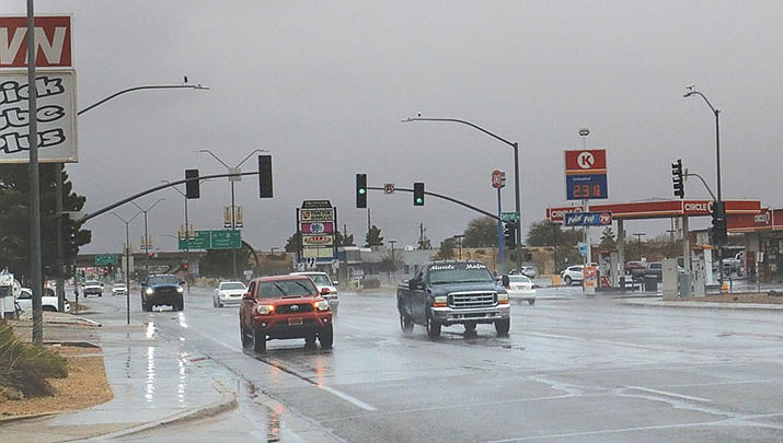 Colder-than-average temperatures will prevail this week. The Kingman area has received .05 inches of rain in recent days, but there's no more precipitation in the immediate forecast. (Miner file photo)