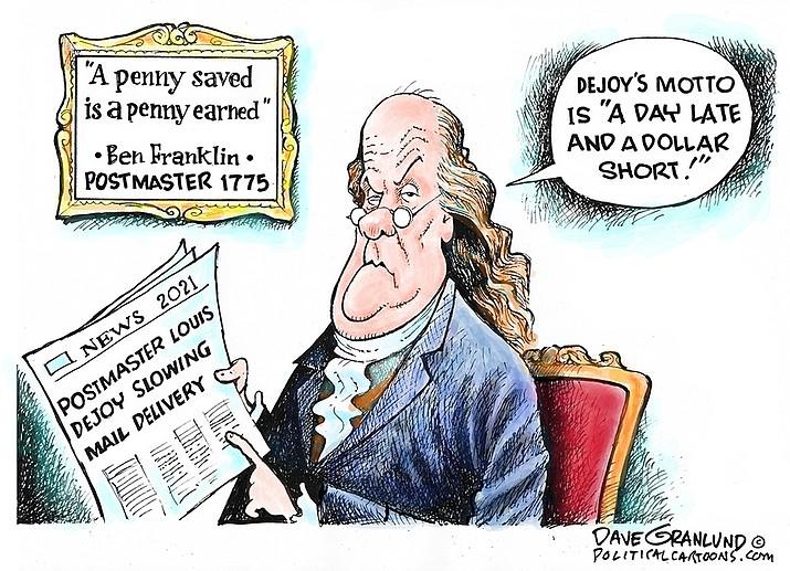 Editorial cartoon (2): Oct. 13, 2021