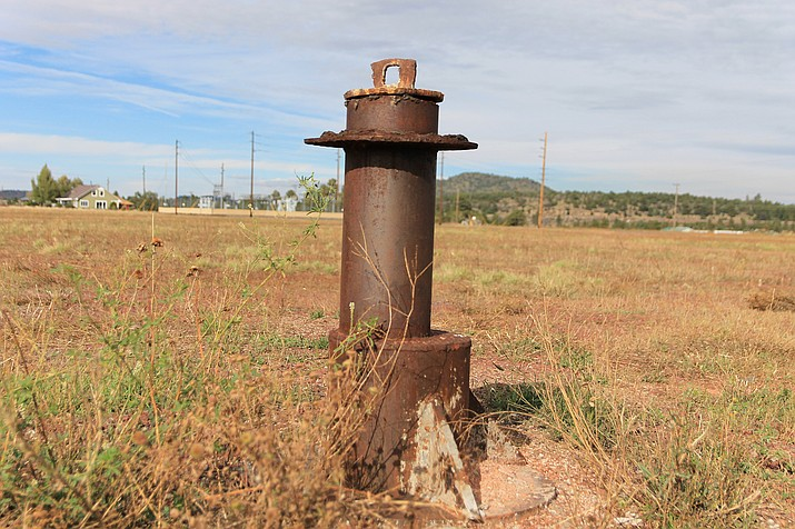 Digging for the Sweetwater Well was completed in 2015. The city of Williams has begun the process of completing the infrastructure needs to get the well up and running. (Wendy Howell/WGCN)