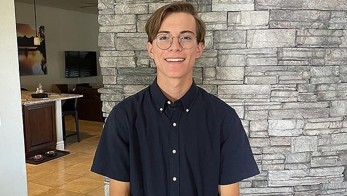 Evan Taylor of Lee Williams High School has been chosen as a Kingman Rotary Club student rotarian. (Courtesy photo)