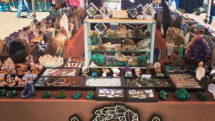 """The Sedona Gem and Mineral Club is hosting its 20th annual """"Rock, Gem & Jewelry Show"""" on Oct. 16 from 10 a.m. to 5 p.m. and Oct. 17 from 10 a.m. to 4 p.m. at Sedona Red Rock High School, 995 Upper Red Rock Loop Road. (Sedona Gem and Mineral Club/Courtesy)"""