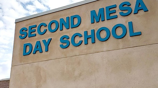 Second Mesa Day School announced it will return to normal release times for kindergarten through third grade effective Oct. 4. (Photo/Second Mesa Day School)