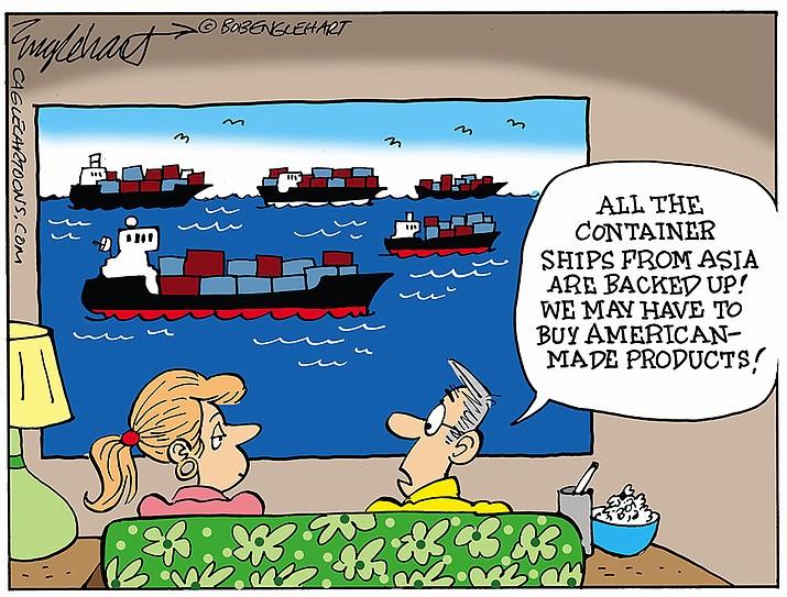 Editorial cartoon (1): Oct. 13, 2021