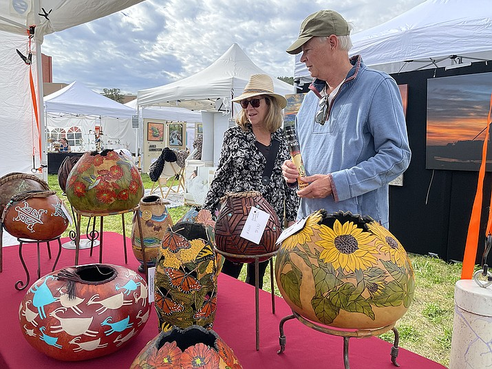 The 2021 Sedona Arts Festival took place Saturday and Sunday, Oct. 9 and 10, 2021, in Sedona. For more information, visit sedonaartsfestival.org. (Lori Reinhart/Courtesy)
