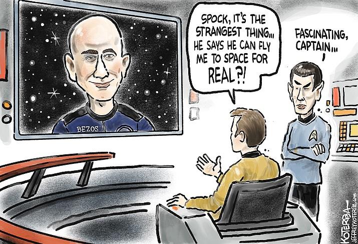 Editorial cartoon (1): Oct. 14, 2021