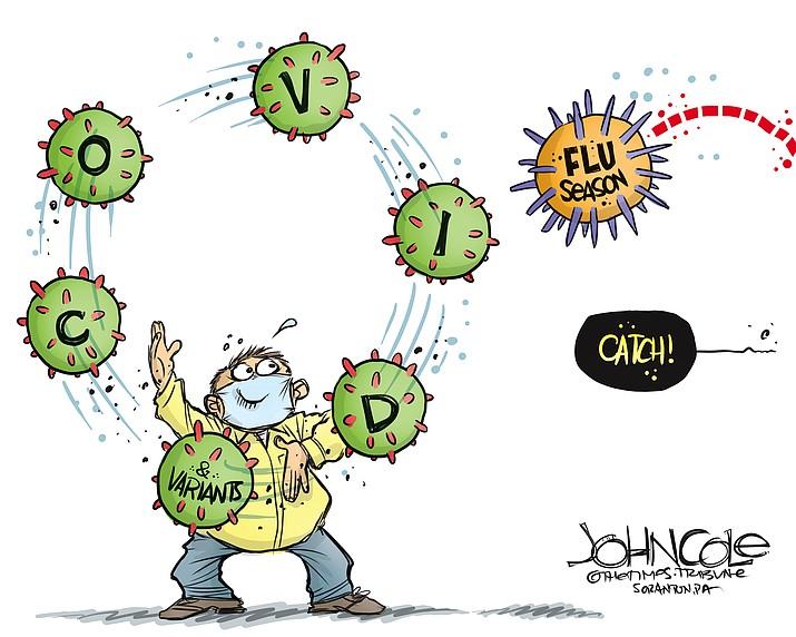 Editorial cartoon (2): Oct. 14, 2021