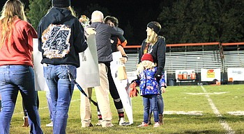 Vikings seniors honored at Oct. 14 game photo