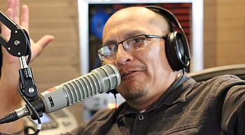 A call to preserve Navajo language leads two sports broadcasters on historic path photo