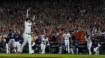 García, Alvarez help Astros oust Red Sox, reach World Series photo