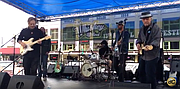 Along with watching mountain bike racing, visitors to the 13th annual Whiskey Off-Road in downtown Prescott had entertainment to keep them busy Saturday, April 30.