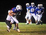 Prescott High School took on Lee Williams High School in a Friday night football matchup September 23, 2016 in Prescott.