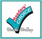 Verde reader's choice awards